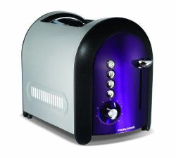 Morphy Richards 77-706 Meno Lidded 2 Slice Toaster - Plum