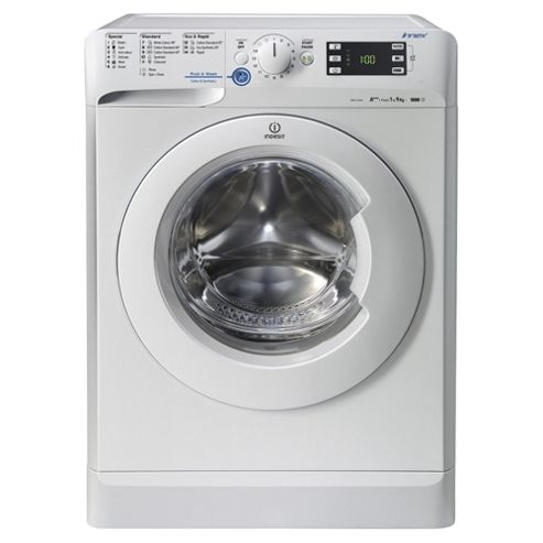 Indesit XWE91683XWWG Innex, Freestanding Washing Machine, 9Kg Wash Load, 1600 RPM Spin, A+++ Energy Rating, White