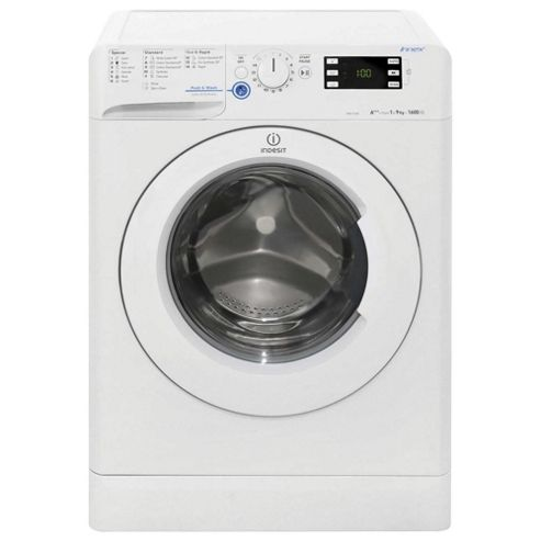 Indesit Innex Washing Machine, XWE91683XWWG, 9KG Load, White