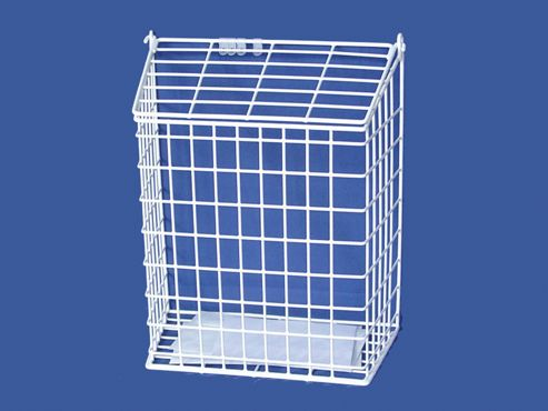 Harvey 62/L Letter Cage Large White