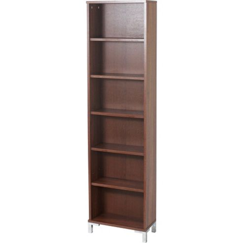 buy tower tall narrow media storage display shelves. Black Bedroom Furniture Sets. Home Design Ideas
