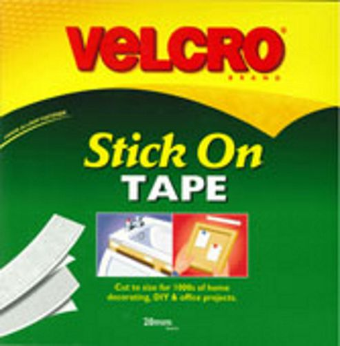 Velcro Stick N Stick 20mm - White