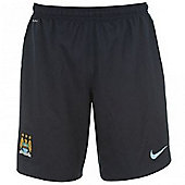 2013-14 Man City 3rd Nike Football Shorts (Kids) - Navy
