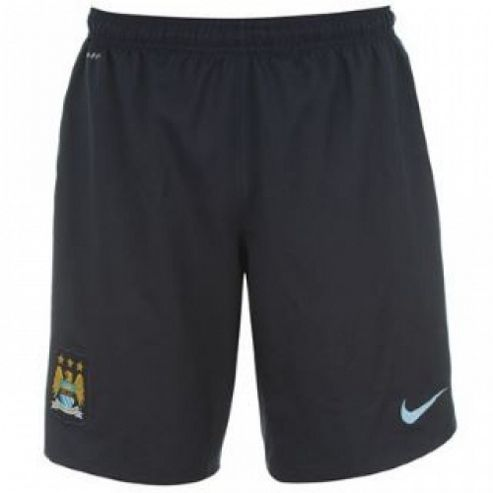 2013-14 Man City 3rd Nike Football Shorts (Kids)
