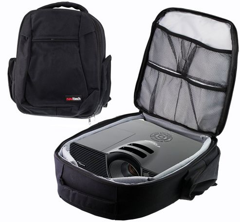 Buy navitech protective portable projector carrying case for Pocket projector case
