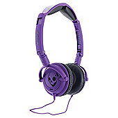 Skullcandy Lowrider Overhead Headphones - Purple