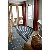 COBA Europe Duo Doormat - Black/Blue - 1 - 150cm x 90cm