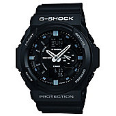 Casio Computer GA-150-1AER G-Shock Gents Black Rubber Strap Watch