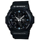 Casio Computer GA-150-1AER G-Shock Gents Black Rubber Strap Watch