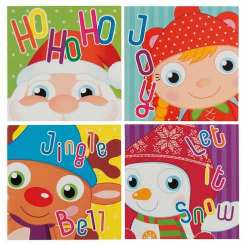 Tesco Chilly Christmas Cards, 20 Pack