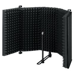 Portable Microphone Absorber and Diffuser
