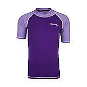 Mountain Warehouse Short Sleeved Kids Rash Vest ( Size: 9-10 yrs )