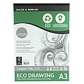 Daler Simply Eco Cartridge Pad A3 120g