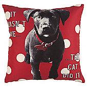 Novelty Labrador Cushion