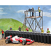 Slot Track Scenics Ct1 Camera Tower & Camera & Crew - For Scalextric