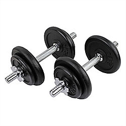 Confidence Fitness Pro 20Kg Dumbbells Weights Set