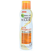 Garnier Ambre Solaire Dry Protect Sun Spray SPF20 200ml