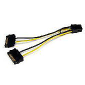 StarTech SATA Power to 6 Pin PCI Express Video Card Power Cable Adapter