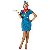 Air Hostess - Adult Costume Size: 16-18