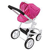 Baby Born Solid Colour Fashion Dolls Pram