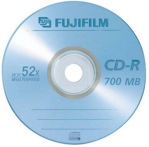 Fujifilm CD-R 700MB 52X Spindle
