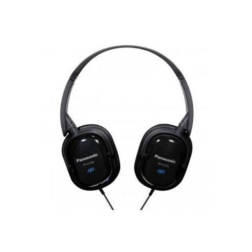Panasonic RPHC200/BLACK Noise Cancelling Stereo Headphones - Black