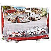 Disney Pixar Cars - Race Team Shu Todoroki and Mach Matsuo
