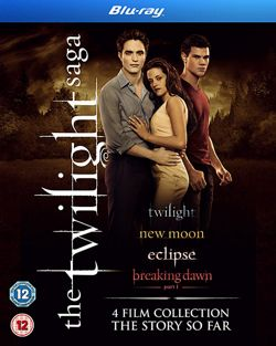 The Twilight Saga - Quad Pack  (Blu-ray Boxset)