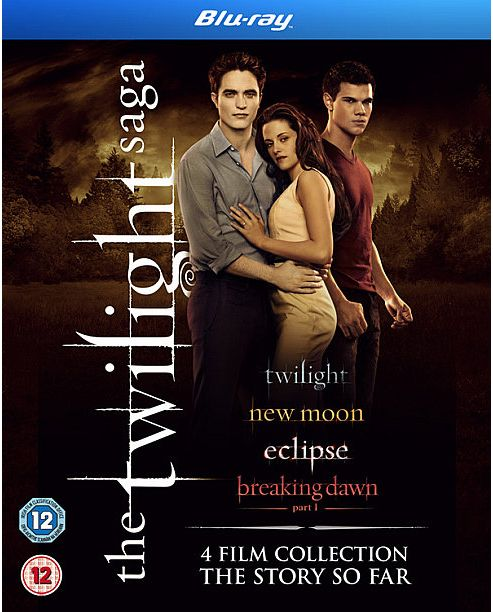 The Twilight Saga - Quad Pack  (Blu-Ray Boxset)