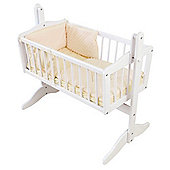 Isabella Alicia Dimple Crib Set (Cream)
