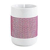 Kahla 0.35L Porcelain Tea Mug - Magenta