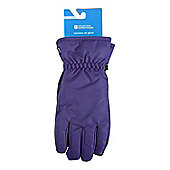 Womens Ski Gloves - Purple
