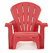 Little Tikes 46cm High Kid's Garden Chair Red