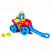 Mega Bloks First Builders Play 'n Go Wagon