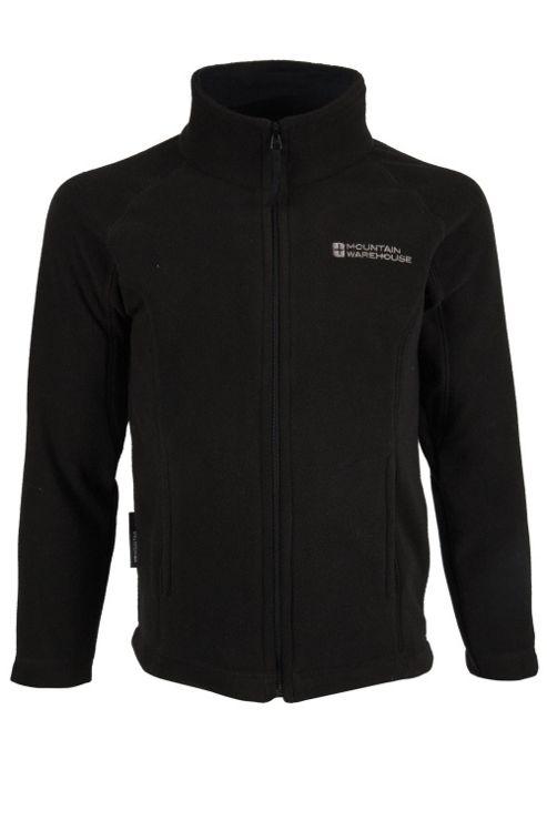 Raso Kids Full Zip Breathable Lightweight Micro Fleece Jumper Sweater