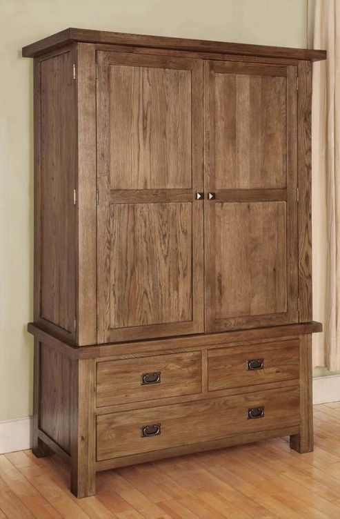 Hawkshead Brooklyn Double Wardrobe