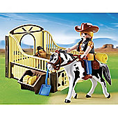 Playmobil Country Rodeo Horse With Stall