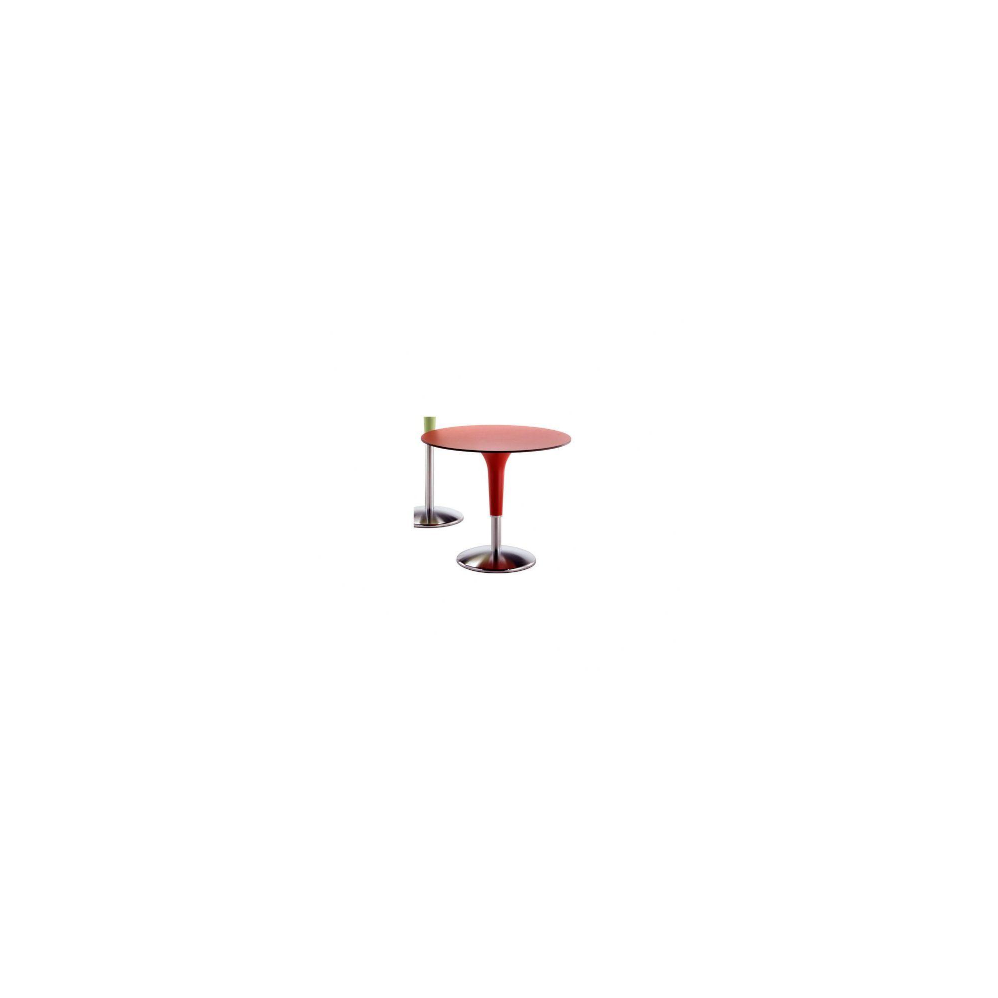 Rexite Zanziplano Round Coffee Table - 60cm x 75cm - White at Tesco Direct