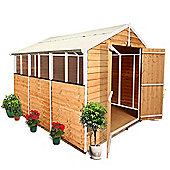 BillyOh 400 9 x 8 Overlap Apex Garden Shed