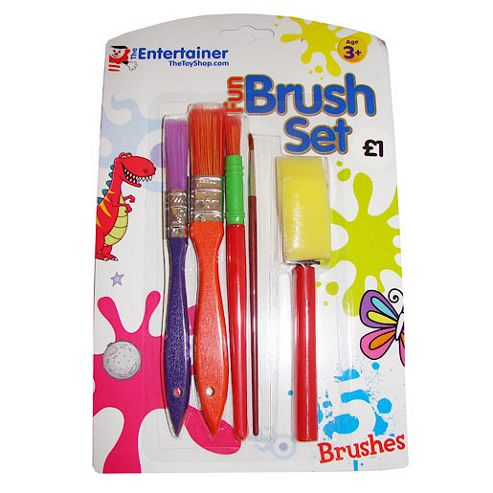 The Entertainer Brush Set