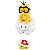 "Official Nintendo Mario Plush Series Stuffed Toy - 8"" Lakitu"