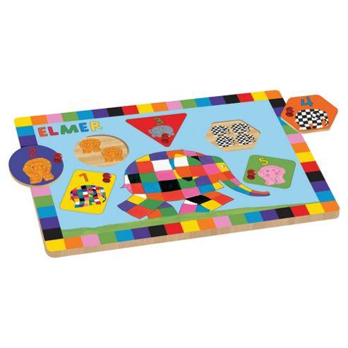 Elmer Peg Puzzle