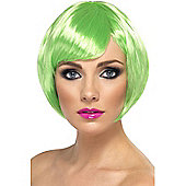 Green Short Bob Babe Wig