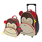 Skip Hop Zoo Luggage Case and Zoo Pack Monkey