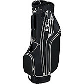 Wilson Mens Lite Golf Bag (Cart) in Black