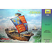 Zvezda - Thomas English Medieval Ship Scale 1/72 9038