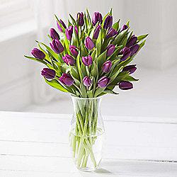 Simply Tulips Purple Bouquet