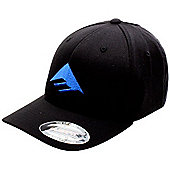 Emerica Triangle 3.0 Black/Blue Flexfit Cap Size: L