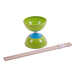 Bigjigs Toys Diabolo (Green)