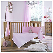 Clair de Lune 2pc Cot Bed Bedding Set (Cotton Candy Pink)